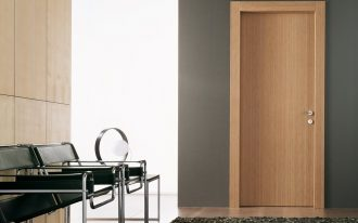 solidwood door panel with solid wood door frames black fury carpet a pair of metal legs chairs in black color