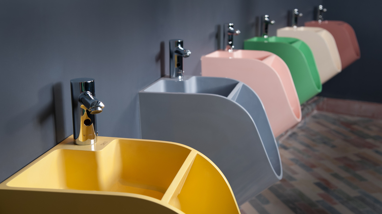 Superieur Some Series Of Dog Wash Sinks In Beautiful Colors And Copper Water Sprays