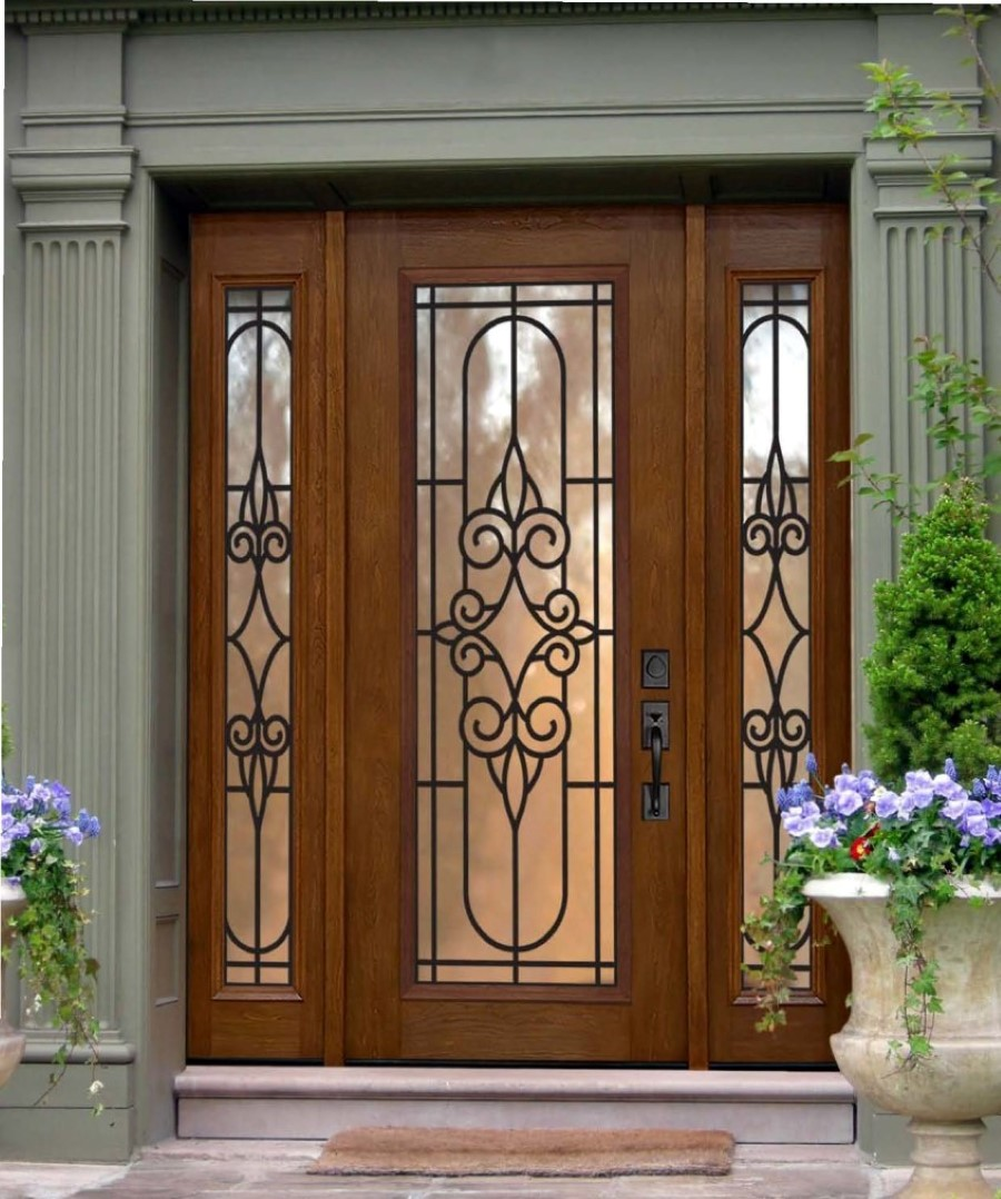 Cool front door invites every eye with excellent - Front door entrance ideas ...