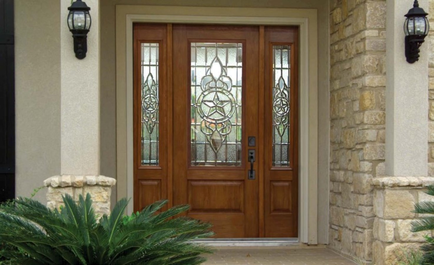 Cool front door invites every eye with excellent for Awesome front doors