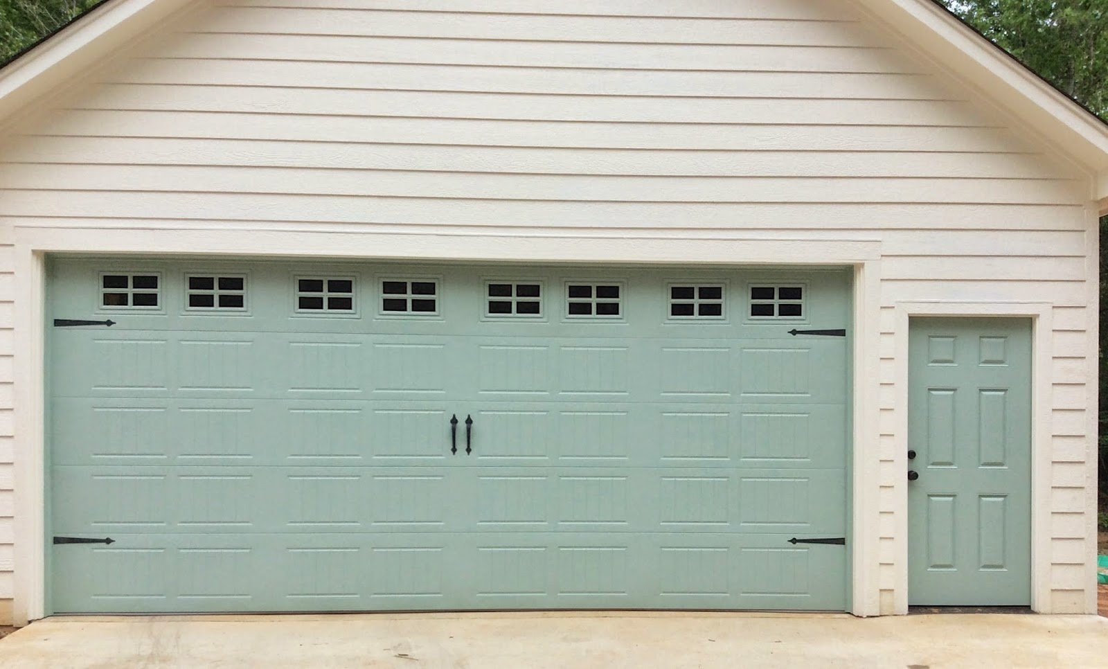 966 #4E5C3B Turqoise Garage Door Costco Made By Solid Wood With Simple Door Panel  pic Costco Doors 47611600