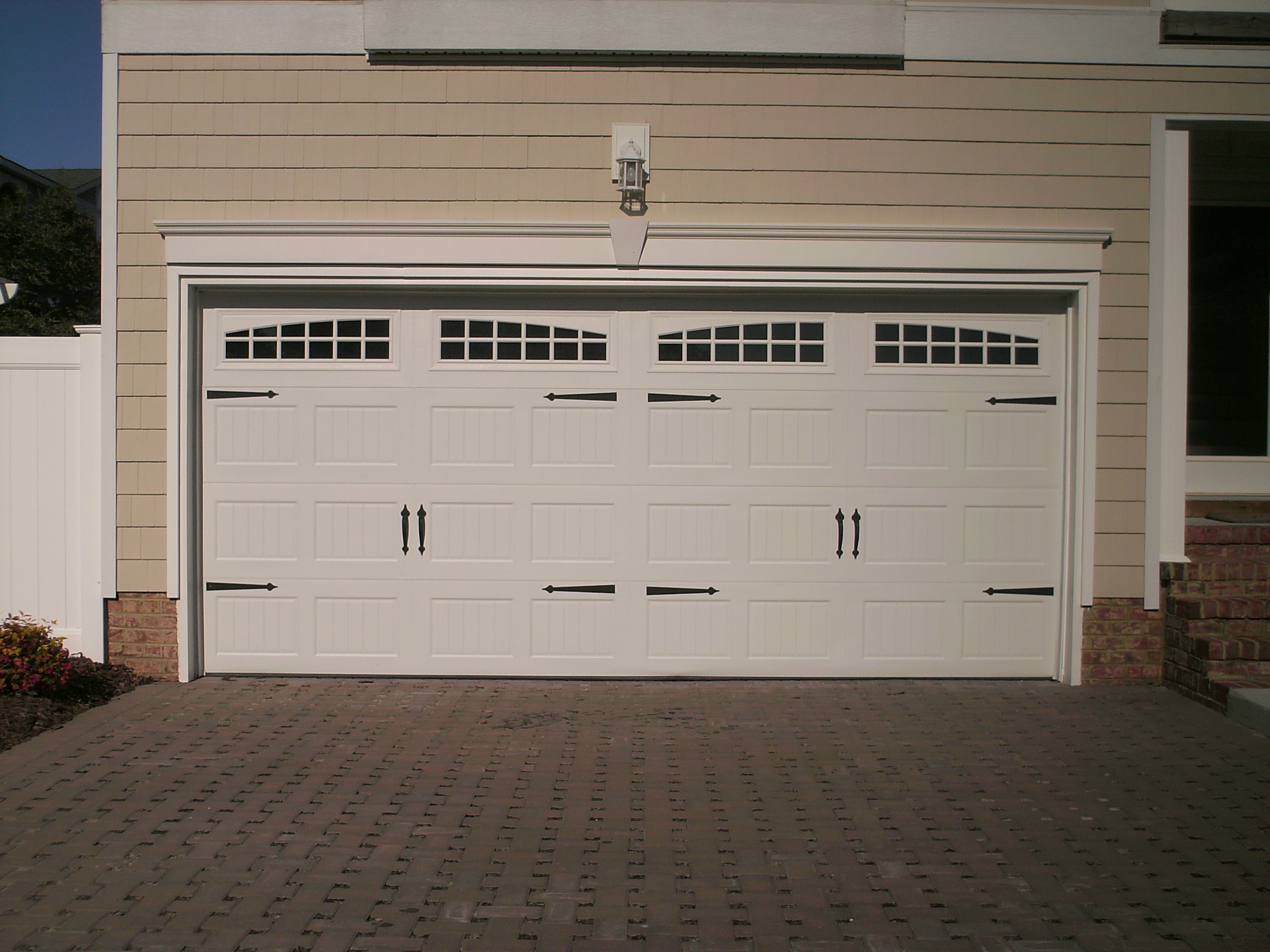 1920 #354A67 Awesome Two Car Garage Doors That Will Inspire You HomesFeed wallpaper Two Car Garage Doors 37652560