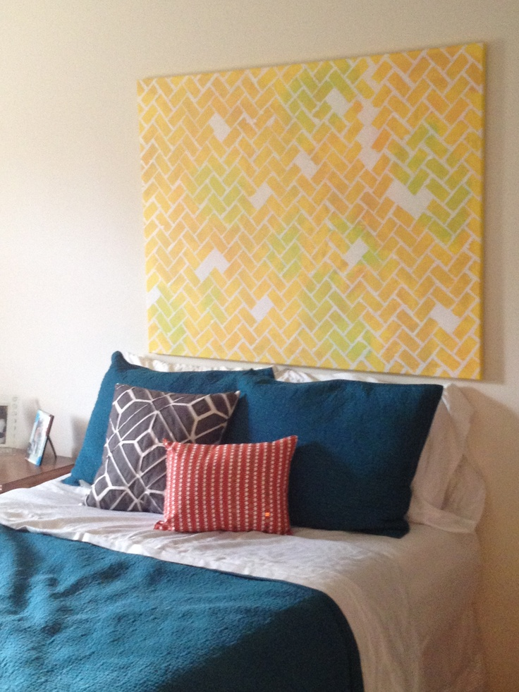 Unique and decorative headboards made by diy homesfeed for Different headboards