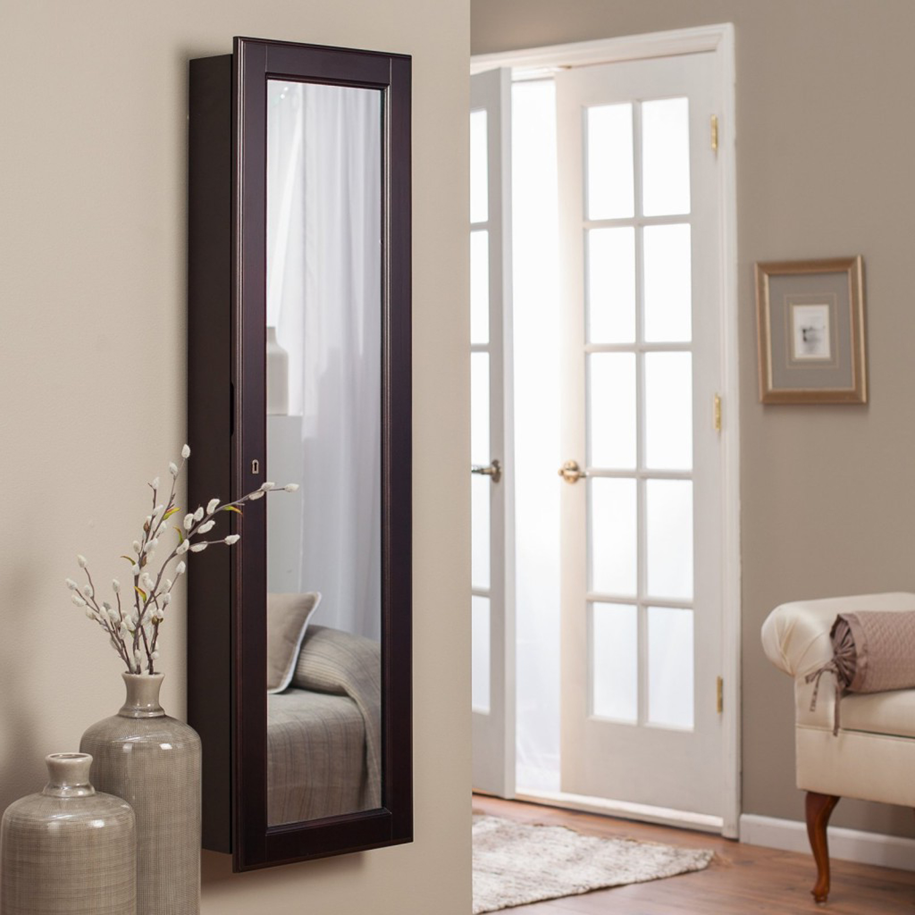 Floor to ceiling mirrors as functional and decorative for Wall size mirror