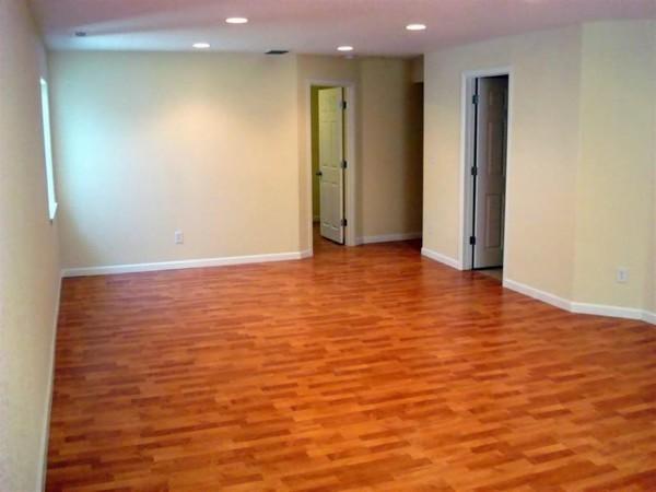 Basement floor covering best options based on public for Hardwood floors in basement
