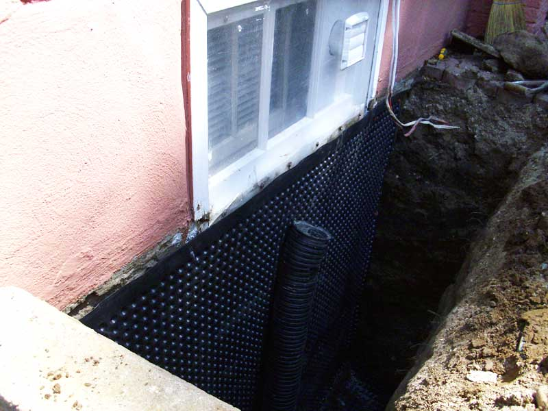 Protect your basement from water flooding and leaking with waterproofing basement homesfeed Exterior basement waterproofing