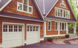 white garage door costco with modern and simple design plus windows on top together with impresive wall
