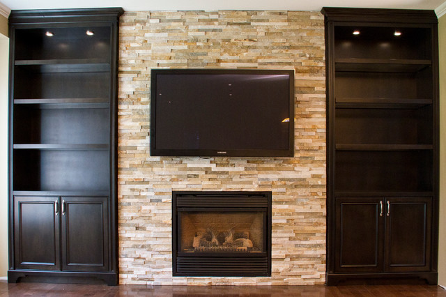 built in cabinets around fireplace dream home pinterest. pin by ...