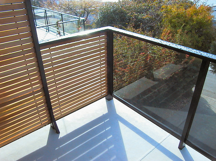 Wooden Deck Panels ~ Horizontal deck railing the advantages and disadvantages