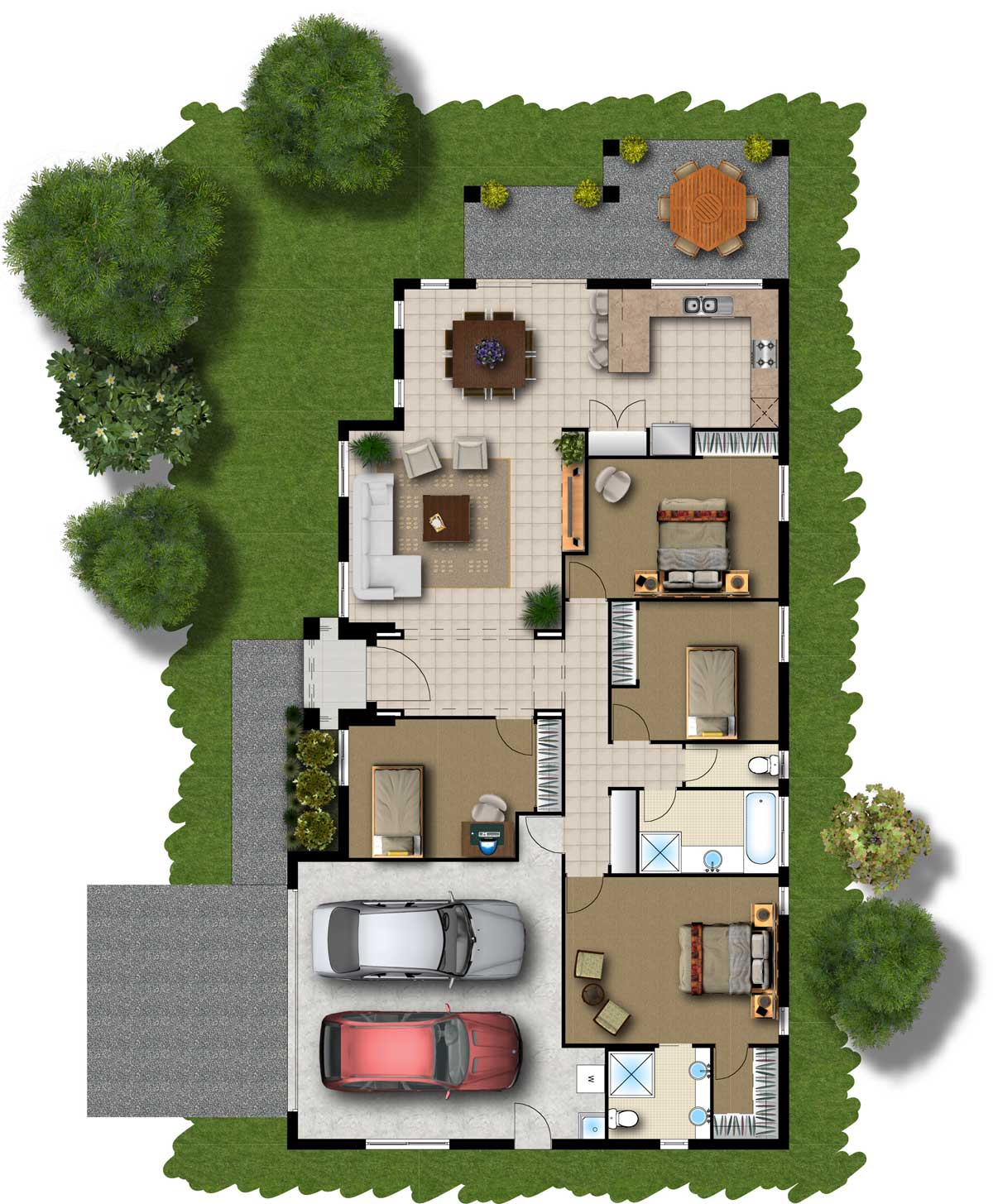 Floor plans designs for homes homesfeed for Home design layout ideas