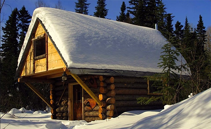 Exceptionnel Exceptional An Off Grid Log Cabin Modern HouseOff The Home Design Punch  Ideas.
