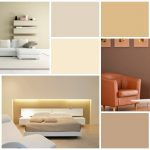 Application of natural home palettes for bedroom reading corner and living room in minimalist style