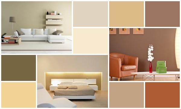 Designer color palettes for a home homesfeed for Colour schemes for interiors