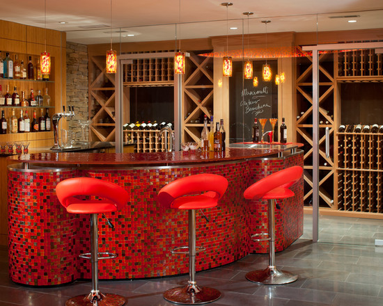 Mosaic wine bar