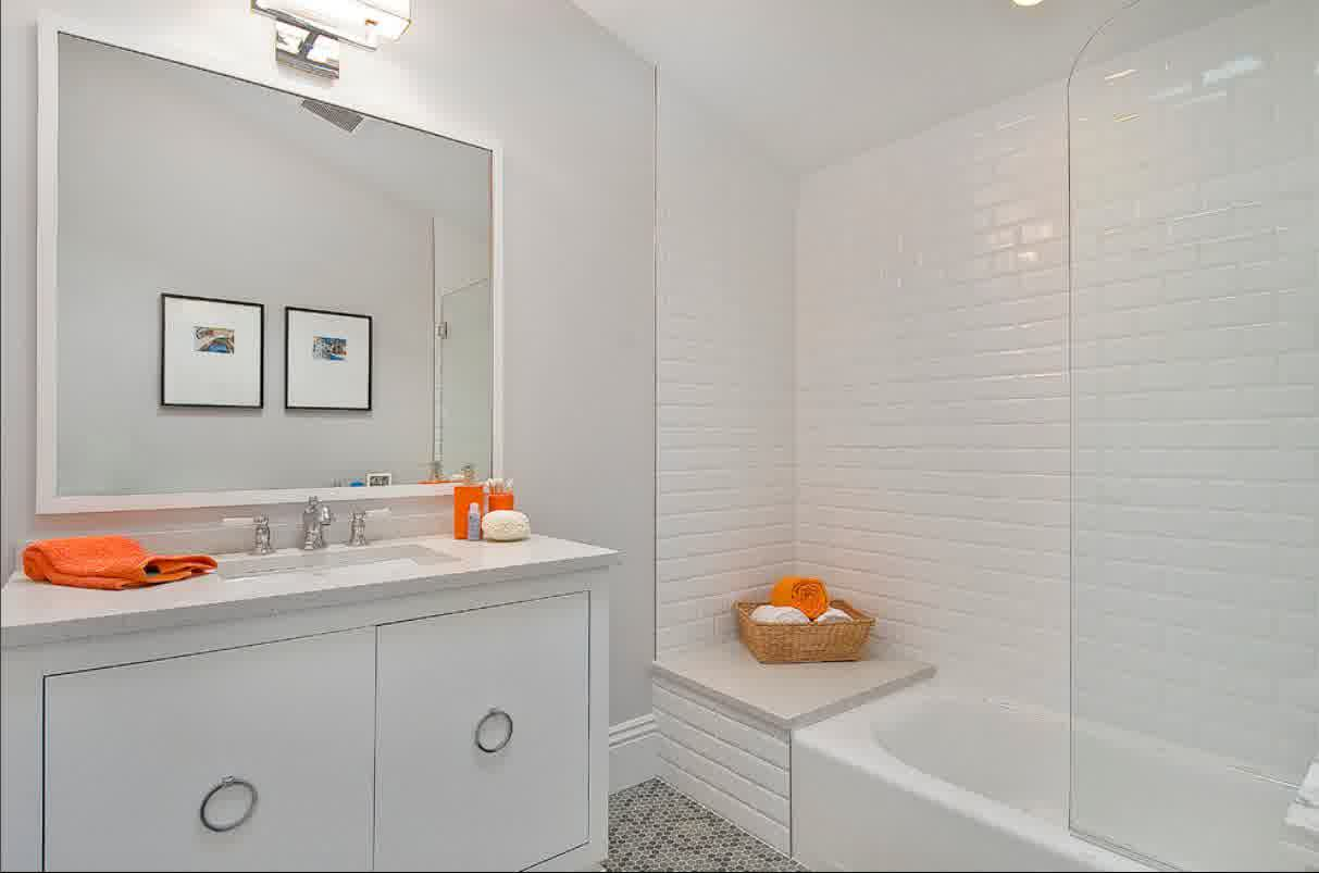 How to choose the best subway tile sizes to get the for Large bathroom pictures