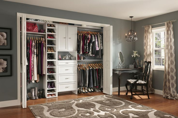 Wonderful Classic Closet Organizer Idea Made By Using Closet Design Software