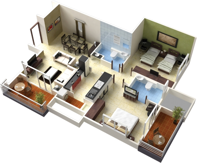 Home Plans 3d Virtual Tour Home Home Design Decorating And