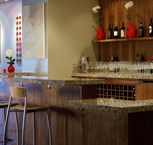 Wine bar design for home homesfeed - Home wine bar designs ...