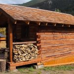 Off The Grid Wood Cabin With Small Front Porch
