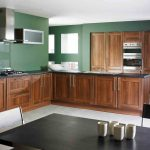 Semi Modern Kitchen Plan In 3D Version Resulted By Home Depot Kitchen Design Tool