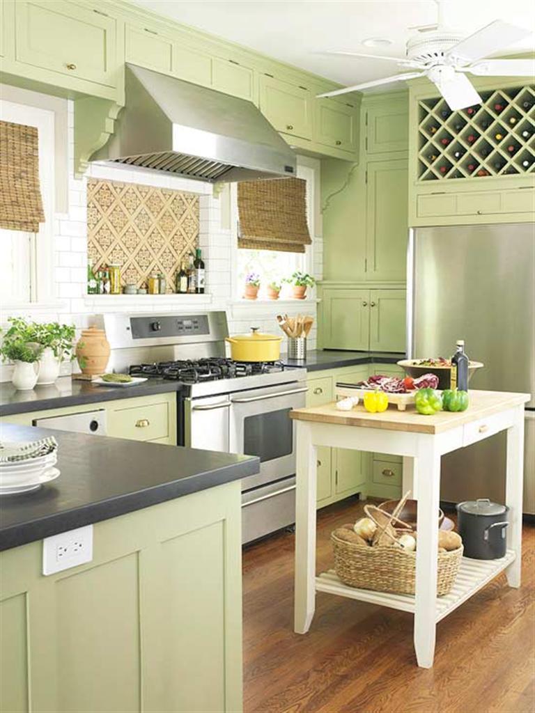 Small Kitchen With Darker Grey