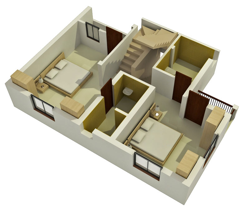 Home 3d Design Online Minimalist: Duplex Home Plans And Designs