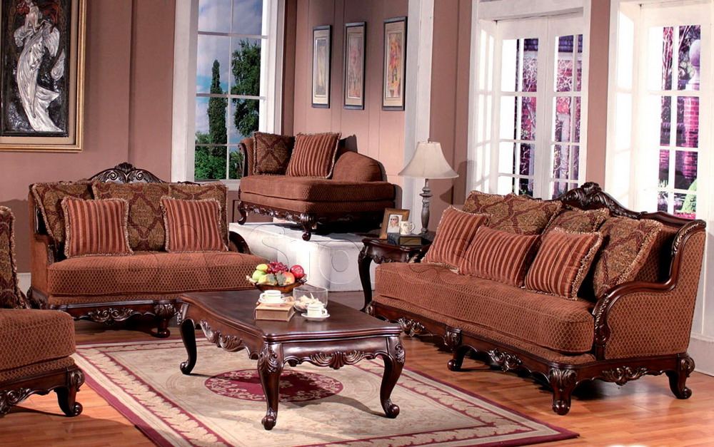 a living room with classic theme brown sofas with classic style craftsmen a classic  wood coffee. Classic Design Homes Billing MT   HomesFeed