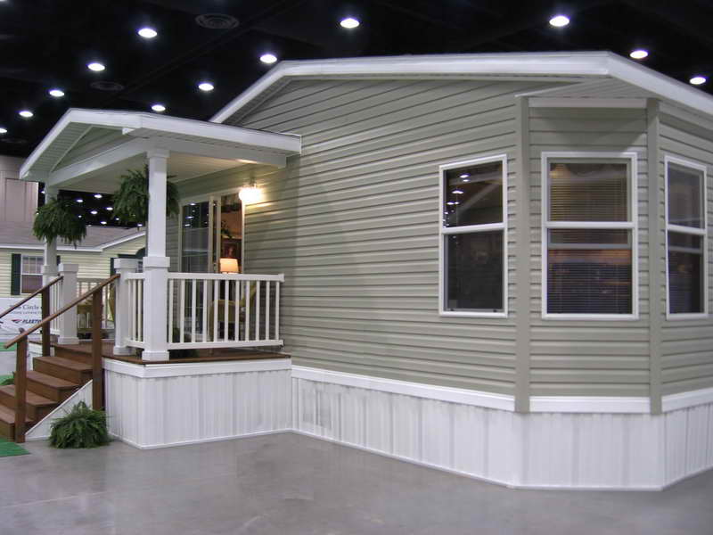 Front porch designs for mobile homes homesfeed - Deck ideas for home ...