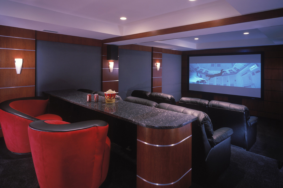 Home theater design and installation homesfeed for Punch home and landscape design 3d black screen