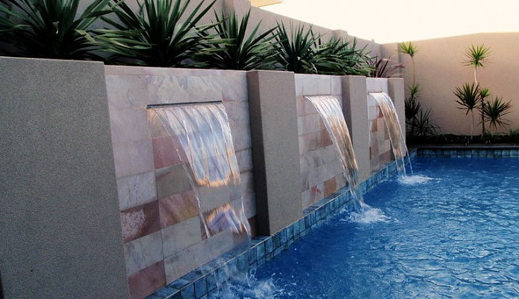 Amazing Cool Modern Nice Fresh Water Feature For