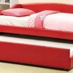 amazing-cool-nice-creative-Furniture-of-America-Delta-Red-Day-Bed-with-Twin-Trundle-for-kids-room-design