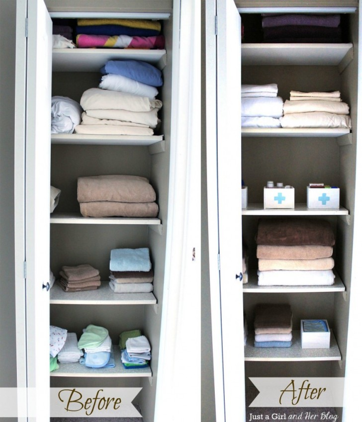 Awesome Linen Closet Organizers