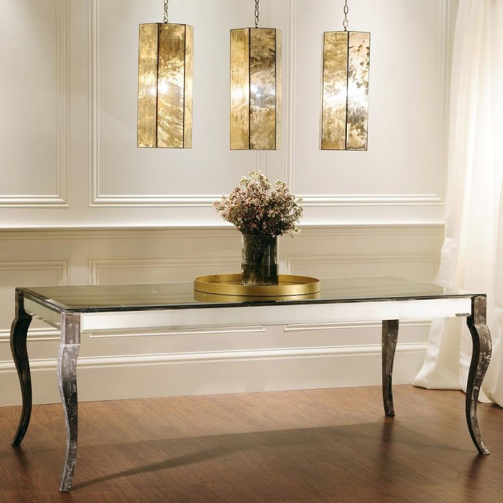 Elegant extra long console table homesfeed for Long table design