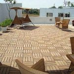 Amazinng Cool Pergola Nice Outdoor Flooring Over Concrete Exterior Flooring Ideas With Little Tile Design With Wooden Furniture