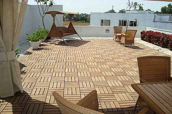 The Idea Of Outdoor Flooring Over Concrete HomesFeed