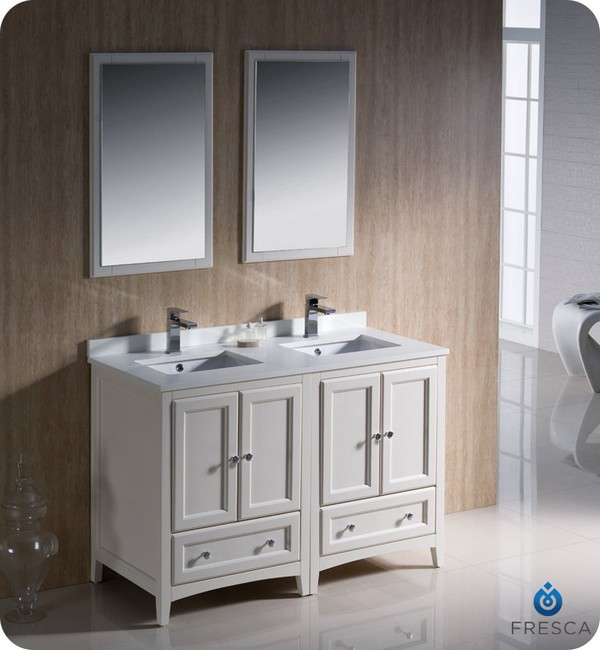 Adorable Concept Of Double Sink Bathroom Vanity HomesFeed