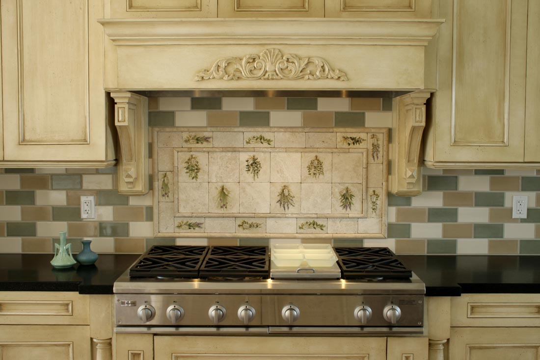 Get your kitchen bathed with awe with the touch of gorgeous spanish contemporary stove kitchen backsplash designs small glazed pots awesome spanish tile dailygadgetfo Image collections