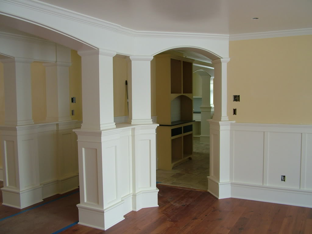 The baseboard styles that maintain the visual attraction for Modern baseboard molding styles