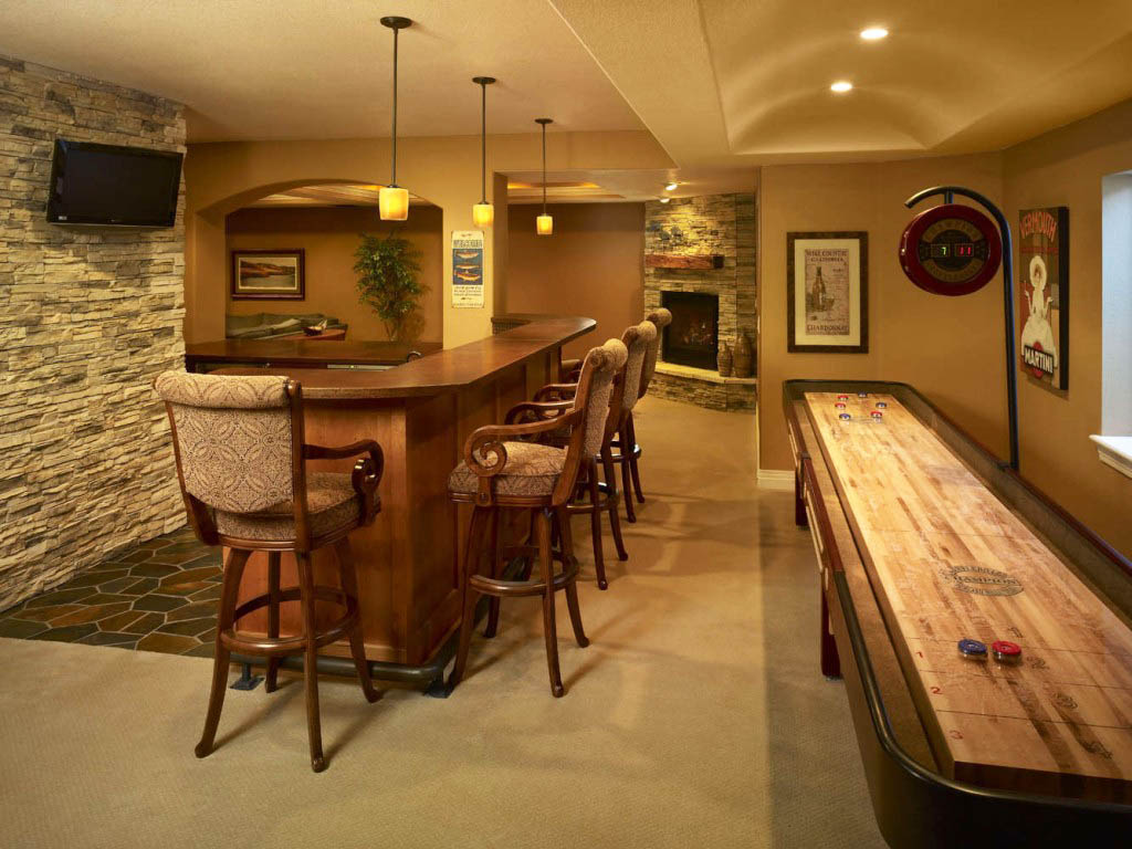 bar designs for home basements | homesfeed