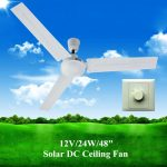 battery operated ceiling fan solar dc ceiling fan with brushles and button