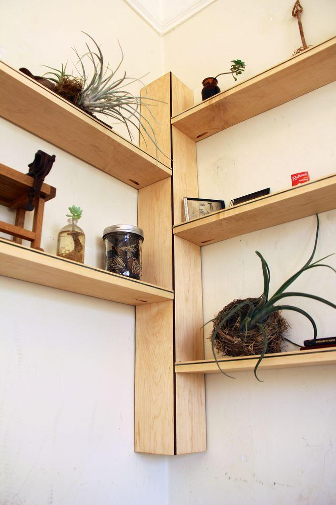 Corner Bookshelf Ikea Brings Simplicity Into Modern Interior - Corner tree bookshelf