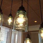 beautiful lighting ideas with mason jar lighting fixtures for warm and inviting home decoration ideas