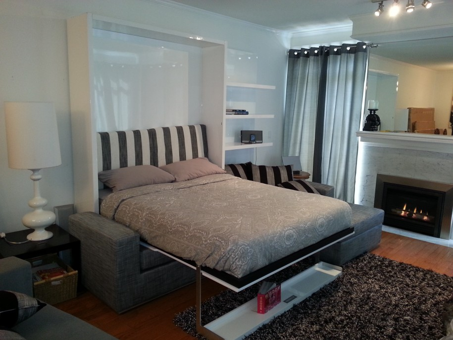 Space Saving Bedroom Ideas With Beds That Fold Into Wall