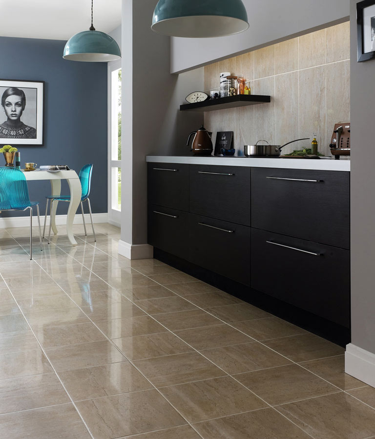 best floors for kitchens with stunning tiles plus wooden kitchen