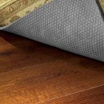 best rug pad for hardwood floors and wooden surface with natural rubber and fibber material for modern rug