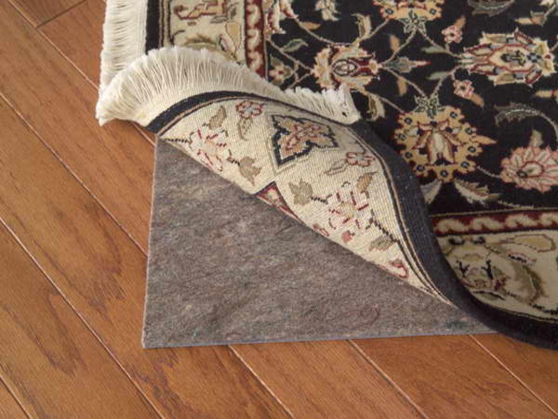 Best Rug Pad For Hardwood Floors rugpro Best Rug Pads For Hardwood Floors From Natural Fiber In Home Interior Placed Under Black Rug