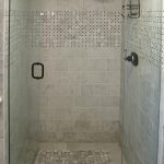 best tile for shower floor with posh corner tile also for bathroom wall ideas