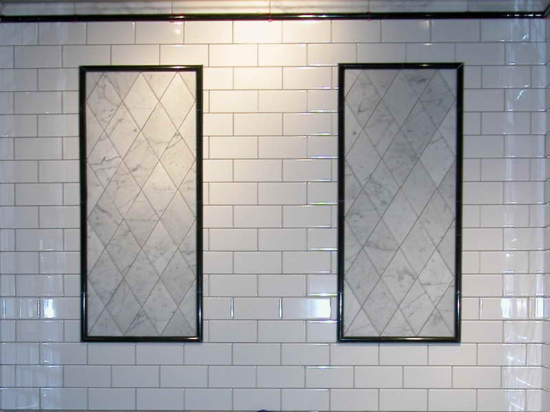 beveled subway tile design | How to Choose the Best Subway Tile Sizes to Get the ...