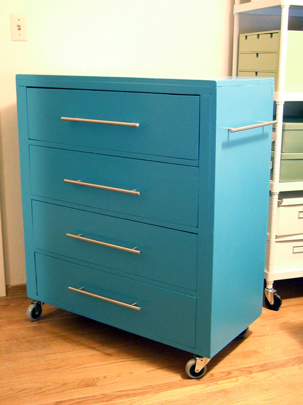 Blue Modern Wood Filing Cabinet Ikea With Floor Drawers And Aluminum  Handles And Wheels For Home