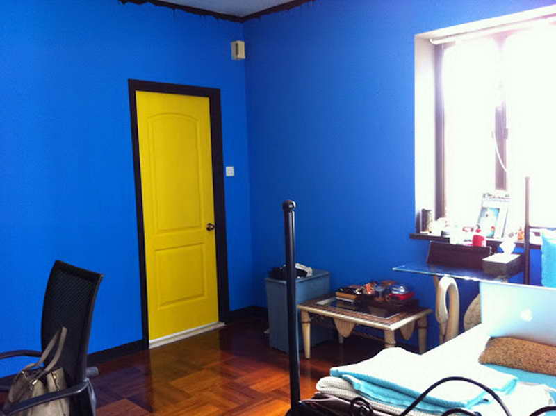 What color should i paint my house homesfeed Bright yellow wall paint